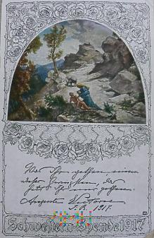 Kartka pocztowa 1917