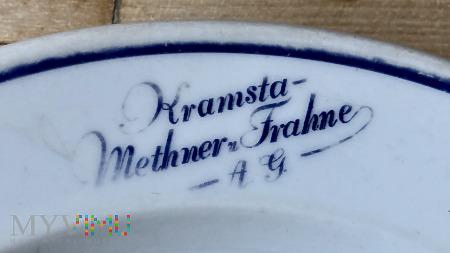 Talerz kantynowy Kramsta-Methner u. Frahne,