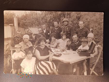 Spotkanie towarzyskie - lipiec 1926 r.