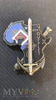 Odznaka Promocyjna Szkoły Artylerii - Francja