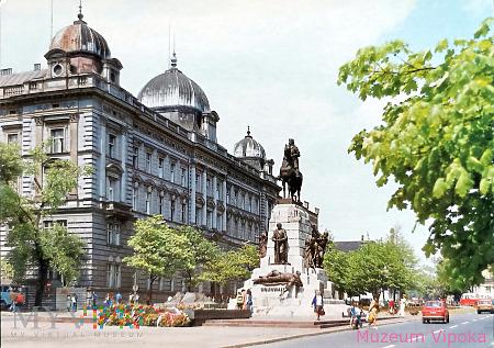 Kraków - pomnik konny Jagiełły (1986)