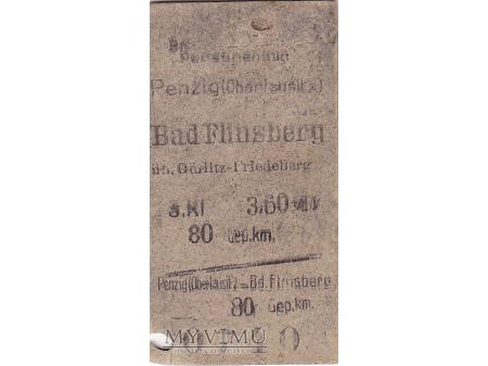 Bilet Penzig (Oberlausitz) - Bad Flinsberg