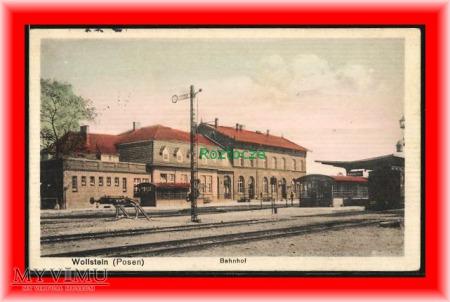 WOLSZTYN Wollstein, Dworzec kolejowy