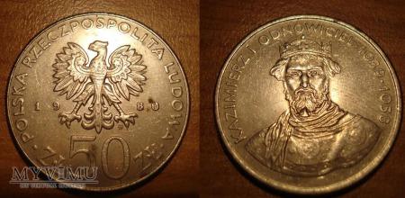 50 ZŁ Kazimierz 1 odnowiciel