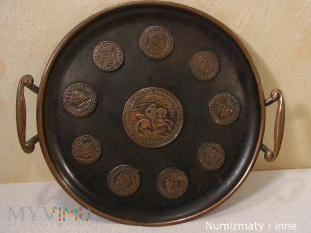 talerz numizmatyczny