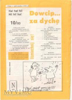 Dowcip...za dychę 10/93