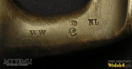Szwedzki tulejowy bagnet kłujący wzór 1867