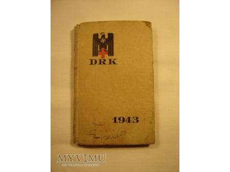 Duże zdjęcie Kalendarzyk DRK na 1943