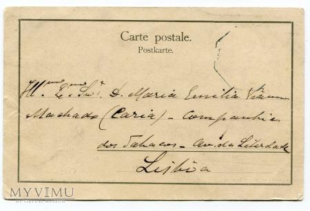 1902 Congo Kongo robotnicy plantacji z konewkami