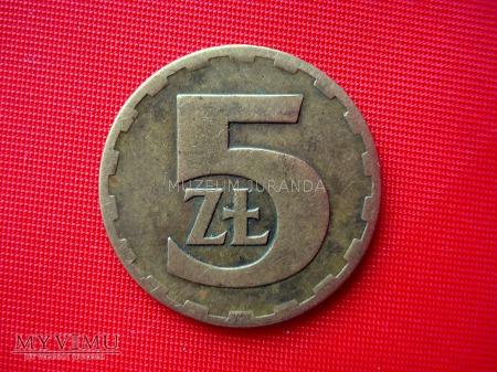 5 złotych 1975 rok