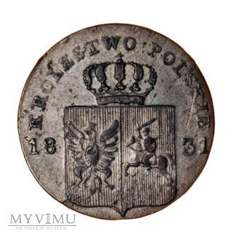 10 groszy 1831 zdwojenie rewersu