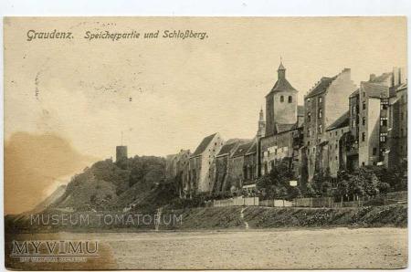 Grudziądz Graudenz - 1915 - Widok od Wisły