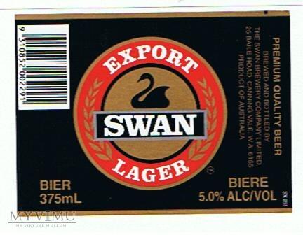swan export lager