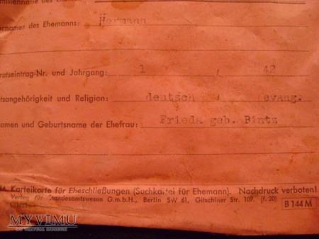 niemiecki dokument