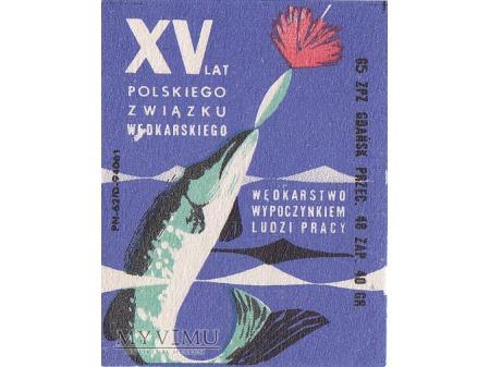 Etykiety z okazji XV lecia PZW