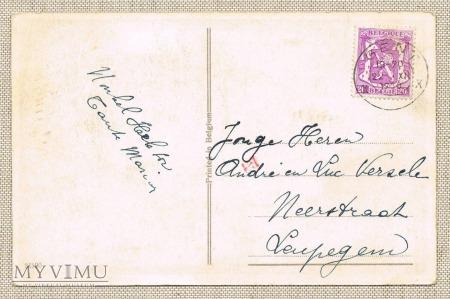 22.12.1920 Belgia Wesołych Świąt