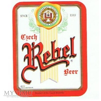 Duże zdjęcie czech rebel beer