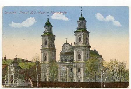 Jarosław - Kościół N.P.Maryi - 1916