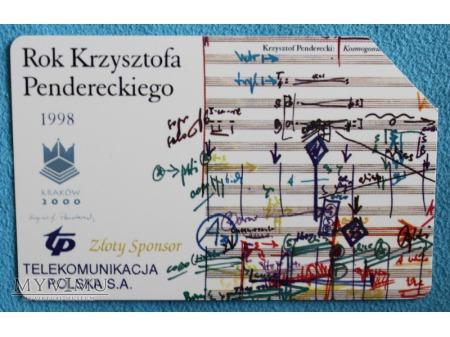 1998 Rok Krzysztofa Pendereckiego