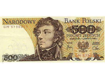 500 Złotych 01.06 1982 r.