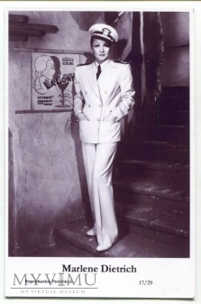 Marlene Dietrich Swiftsure Postcards 17/29