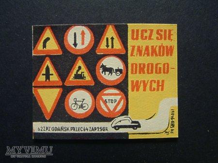 Etykieta - Ucz się znaków drogowych