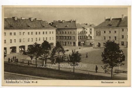 Warszawa - Trasa W-Z (Mariensztat) - 1950 ok.