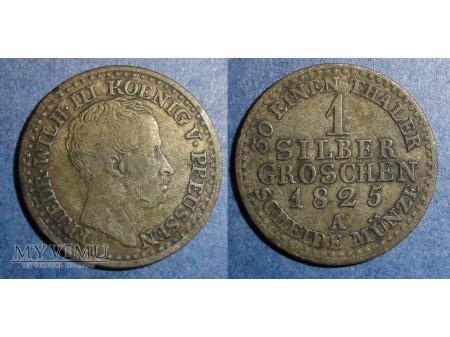 1825 Srebrny grosz