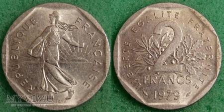 Francja, 2 FRANCS 1979