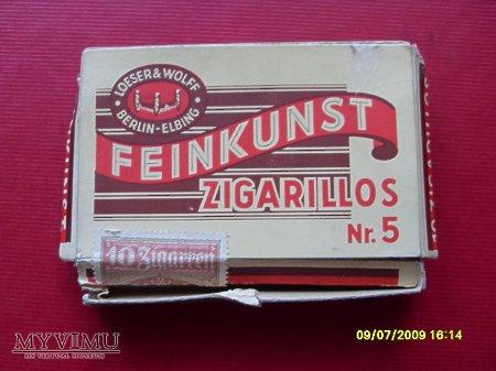 """Duże zdjęcie """" Feinkunst """" - zigarillos no.5"""