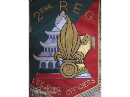 Proporczyk Les Sous -Officiers 2REG