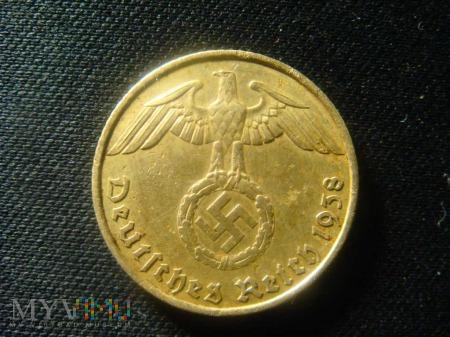 III Rzesza 5 Reichspfennig 1938 A