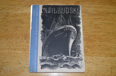 Duże zdjęcie M/S Pilsudski Katalog Dziel Linie Gdynia Ameryka