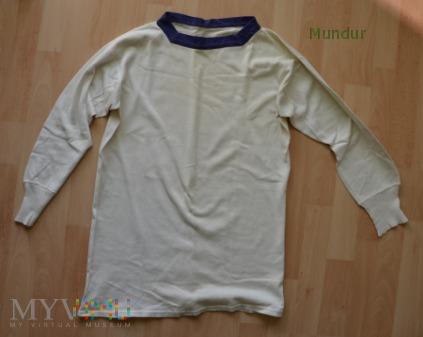 Koszulka marynarska biała lata 50-te