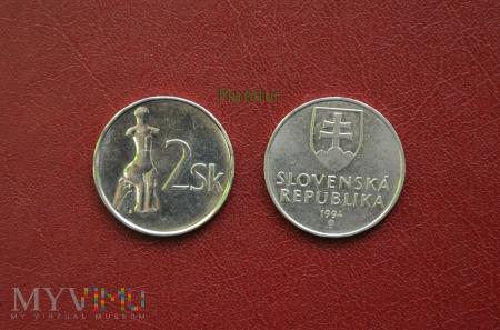 Moneta słowacka: 2 Sk