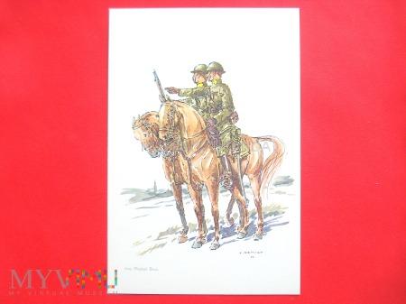 Duże zdjęcie Kawaleria 1918
