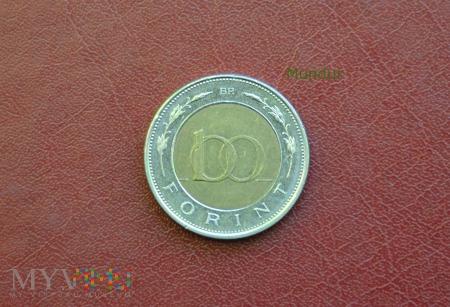 Moneta węgierska: 100 forint