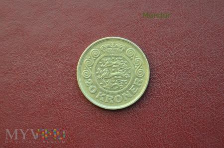 Moneta duńska: 20 kroner