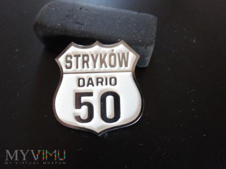 Pamiątkowa odznaka na 50-tkę Daria