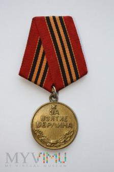 Duże zdjęcie Medal za Zdobycie Berlina