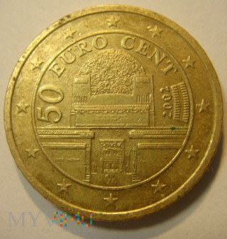 50 centów Austria 2002