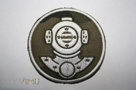 Duże zdjęcie Nurek - Emblemat specjalisty MW-polowa