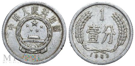 Chiny, 1 FEN 1963