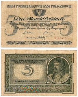 5 marek polskich 1919