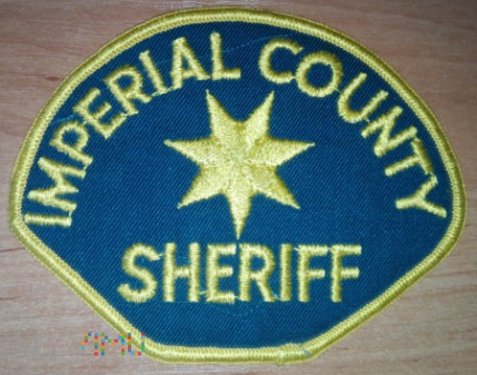 Imprial county sheriff