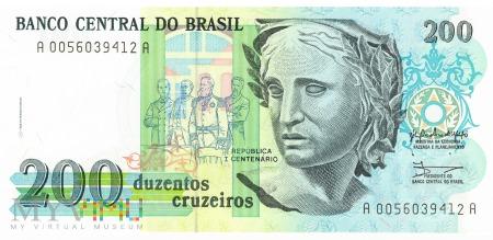 Brazylia - 200 cruzeiros (1990)