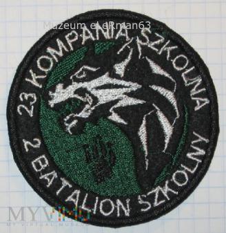 23 Kompania Szkolna 2 Batalion Szkolny AWL.Wrocław