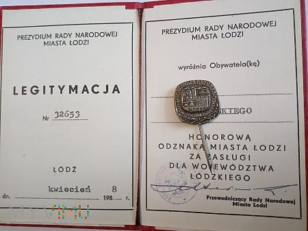 Za Zasługi dla Województwa Łódzkiego