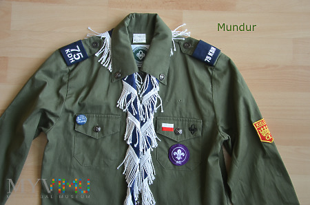 Mundurek (koszula) harcerza ZHP - 75 KDH