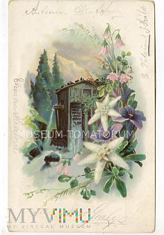 Pocztówka artystyczna - obieg 1901